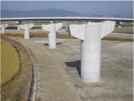 東海環状 養老ICT・Fランプ橋中下部工事