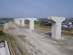 東海環状 福井高架橋中下部工事