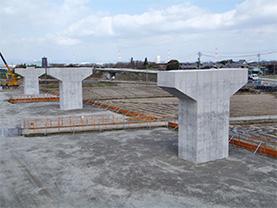 東海環状 口ヶ島高架橋中下部工事
