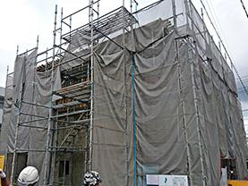 室町の家新築工事(RC造)