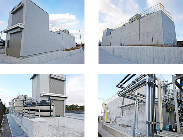 本巣工場・排水処理施設建設工事