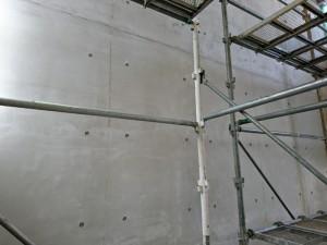 Pコン孔、ベニヤ板目造形完了