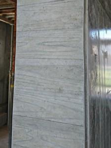 施工後 室内ドア開口 側面