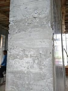 施工前 室内ドア開口 側面