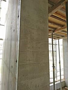 下地・造形・杉板模様 硬化養生後