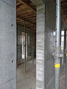 施工前 室内ドア開口 全景