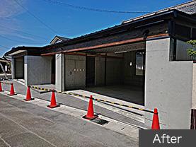 岐阜 RCガレージ・外部/全面化粧 After
