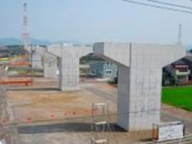 東海環状 福井高架橋南下部工事